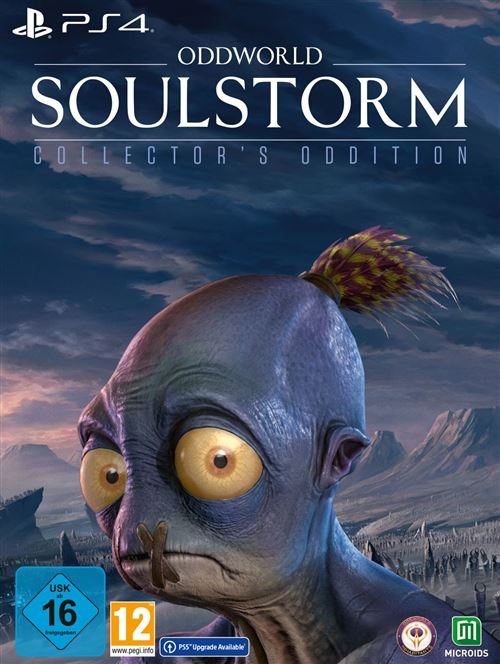 Oddworld Soulstorm Edition Collector PS4