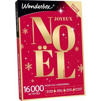 Coffret cadeau Wonderbox Noël Sensation Emotion   Coffret cadeau