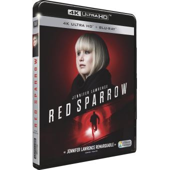 Red Sparrow Blu-ray 4K Ultra HD