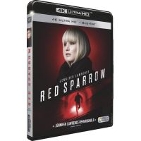 Red Sparrow Blu-ray 4K Ultra HD