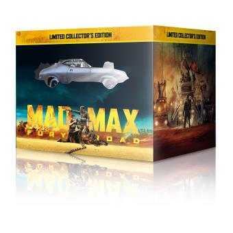 Mad MaxMad Max Fury Road Coffret Steelbook Blu-ray