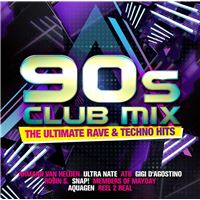 90 s club mix the ultimate rave & techno hits