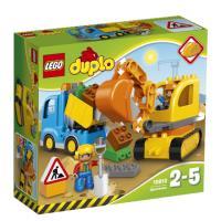 LEGO® DUPLO® Ville 10812 Le camion et la pelleteuse