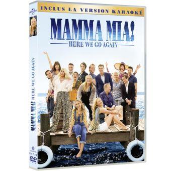 Mamma Mia !Mamma Mia ! Here We Go Again DVD