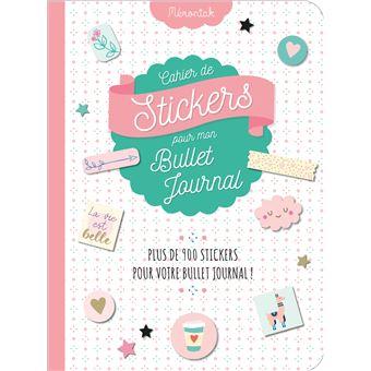 Calendrier Bullet Journal 2020.Cahier De Stickers Pour Mon Bullet Journal 2020