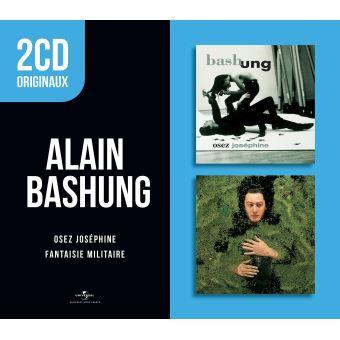 2 CD originaux : Osez Joséphine Fantaisie militaire