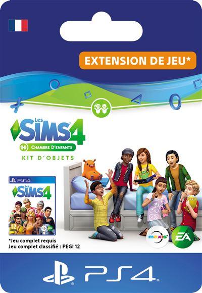 Code de téléchargement Les Sims 4 Kit d'objets Chambre d'enfants PS4