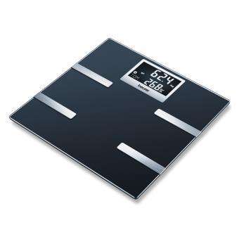 Wifi-weegschaal met impedantiemeter Beurer BF 700, Zwart