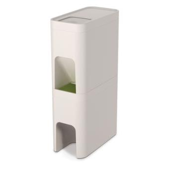 bac tri s lectif joseph joseph 30012 stack 48l blanc achat prix fnac. Black Bedroom Furniture Sets. Home Design Ideas
