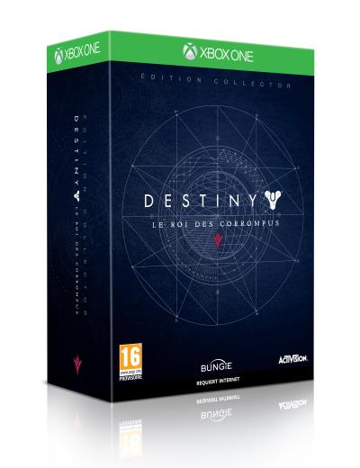Destiny Edition Collector Le Roi des Corrompus Xbox One