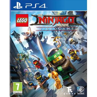 lego ninjago le film le jeu vid o ps4 jeux vid o achat prix fnac. Black Bedroom Furniture Sets. Home Design Ideas