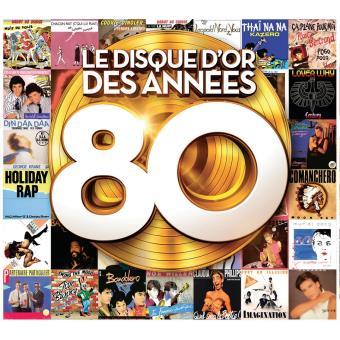 Le Disque D'Or Des Années 80 Edition 2016