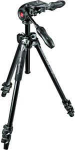 MNFR Kit Manfrotto Trépied Alu MK290LTA3-3W + Rotule MH293D3-...