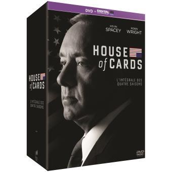 House of cardsHouse of Cards Saisons 1 à 4 - DVD