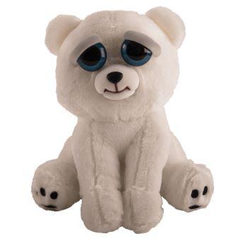 Feisty pets polar bear