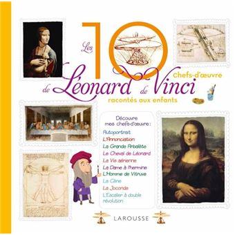Les 10 plus belles créations de Léonard De Vinci racontées aux enfants