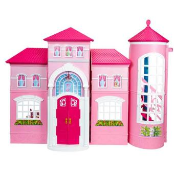 la nouvelle maison de barbie maison de poup e achat prix fnac. Black Bedroom Furniture Sets. Home Design Ideas
