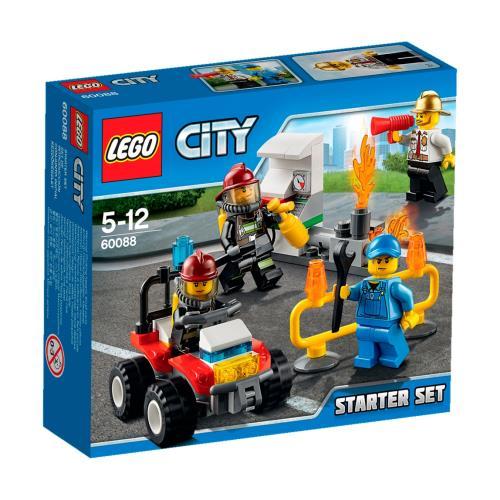 LEGO® City 60088 Ensemble de Démarrage Pompiers