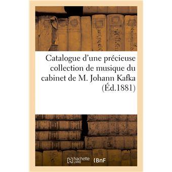Catalogue d'une précieuse collection de musique des plus grands compositeurs du XVIIIe et du XIXe