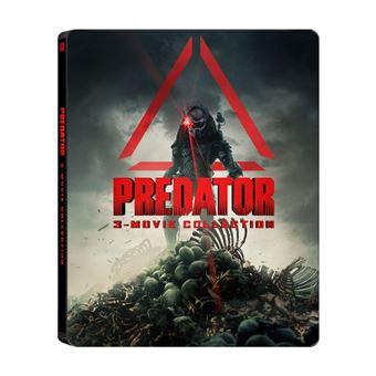 PredatorCoffret Predator la trilogie Steelbook Blu-ray