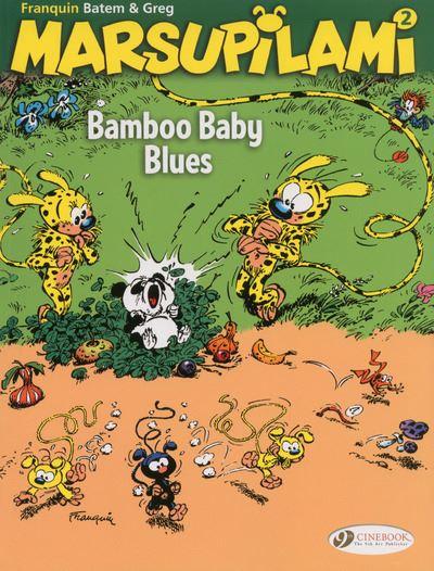Marsupilami - tome 2 Bamboo baby blues