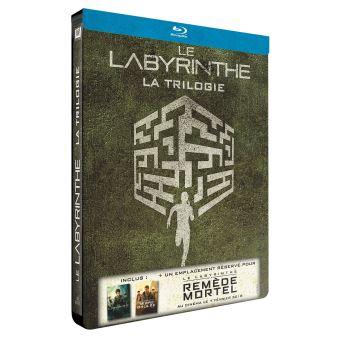 L'épreuveLe Labyrinthe La Trilogie Edition Limitée Steelbook Blu-Ray