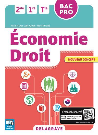 Economie Droit 2de, 1ère, Term Bac Pro En contextes