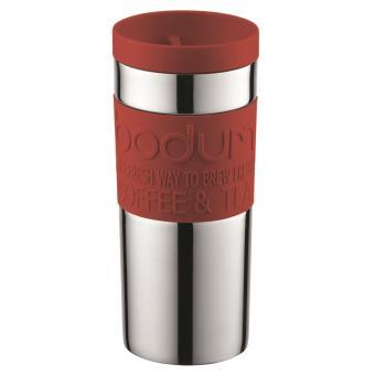 Bodum Travel Mug rvs reisbeker - 0.35l - Red