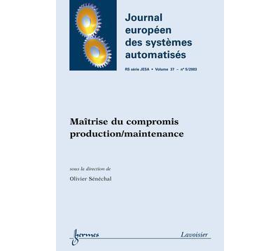 Maitrise du compromis production maintenance journal europee