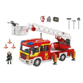 Playmobil City Action 5362 Camion De Pompier Avec échelle Pivotante