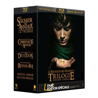 Le Seigneur des anneauxLord Of The Rings, The - Trilogy Box (2004) Bluray Box