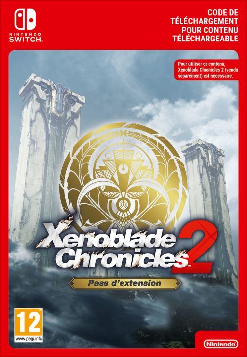 Code de téléchargement Xenoblade Chronicle 2 Pass d'extension Nintendo Switch
