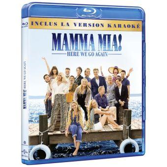 Mamma Mia !Mamma Mia ! Here We Go Again Blu-ray