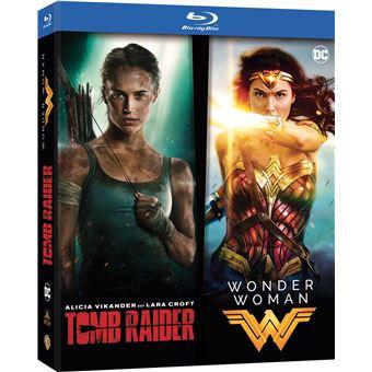 Coffret Tomb raider Wonder Woman Blu-ray