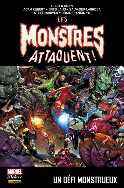 Les monstres attaquent ! - Un défi monstrueux - 9782809488784 - 21,99 €