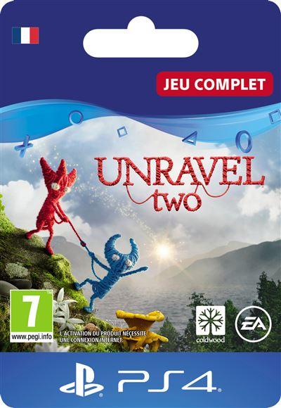 Code de téléchargement Unravel Two PS4