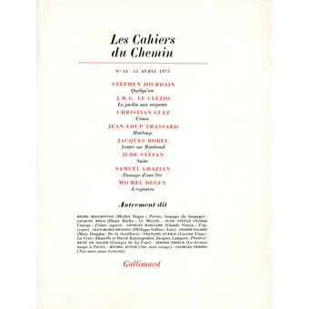 Cahiers du chemin  n18