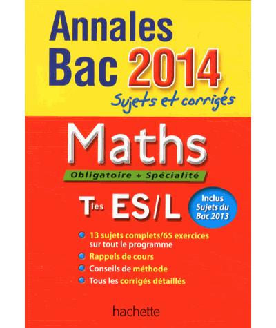Annales Bac Maths Term ES
