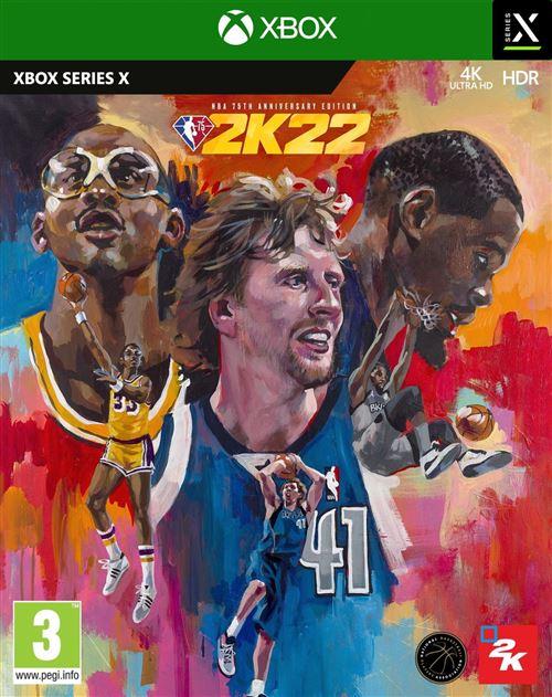 NBA 2K22 Edition 75ème Anniversaire Xbox Series X