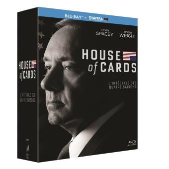 House of cardsHouse of Cards Saisons 1 à 4 - Blu-ray