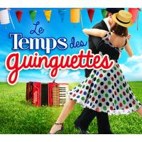 TEMPS DES GUINGUETTES/4CD DIGIPACK