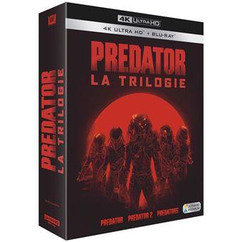 PredatorCoffret Predator La Trilogie Blu-ray 4K Ultra HD