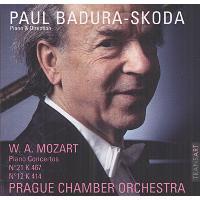 Mozart: PIANO CONCERTOS N21 K467 / N12 K414