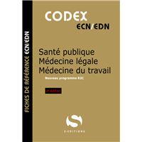 Santé publique médecine légale médecine du travail pharmacologie