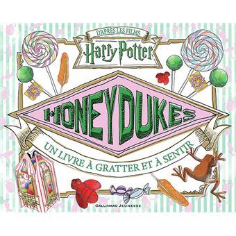 Harry PotterHoneydukes un livre a gratter et a sentir