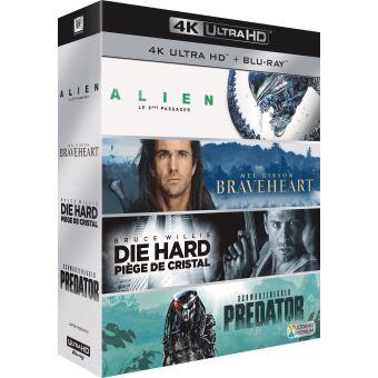 Coffret 4 Cultes Blu-ray 4K Ultra HD
