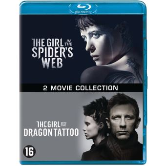 GIRL IN THE SPIDER S WEB+GIRL WITH THE DRAGON-BIL-BLURAY