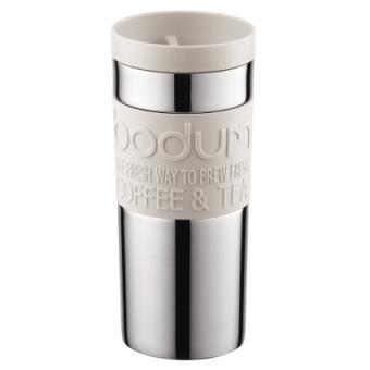 Bodum Travel Mug Reisbeker - RVS - 0.35 l - White