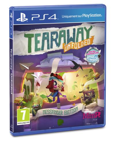 Tearaway Unfolded Messenger Edition PS4