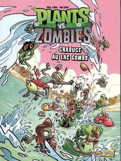 Plants vs zombies - tome 10 Grabuge au lac Gombo